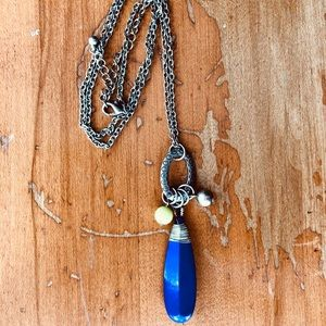 💎 5 for 10$ Blue charm necklace